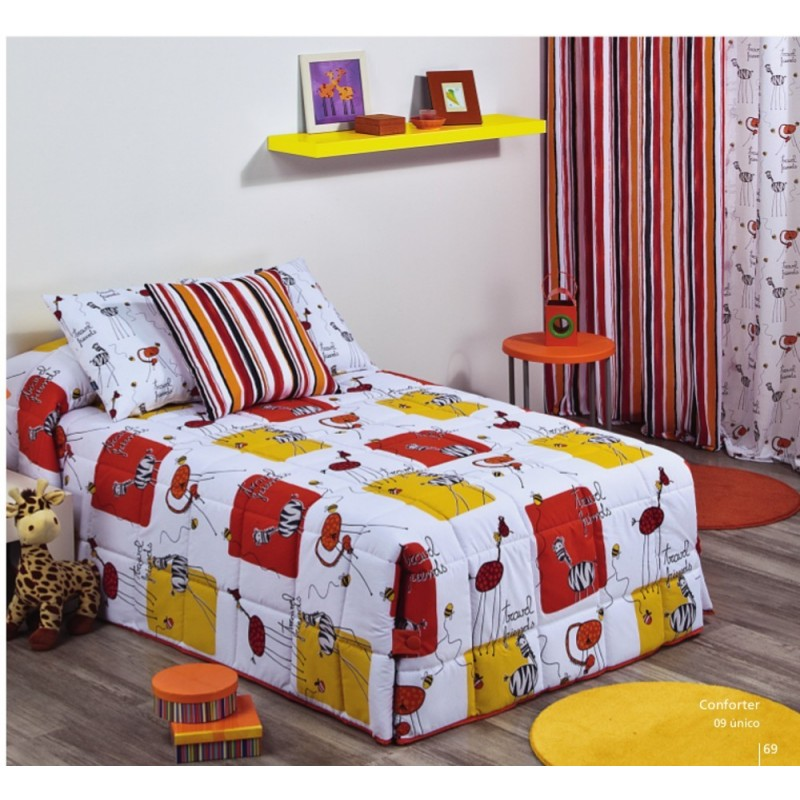 Edredones infantiles Conforter Estampado Lula B.