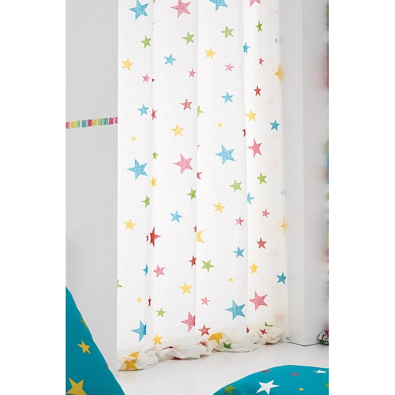 Comprar cortina bird star online tienda online cortinas infantiles - Cortinas infantiles barcelona ...