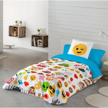 Funda Nordica Emoji Party