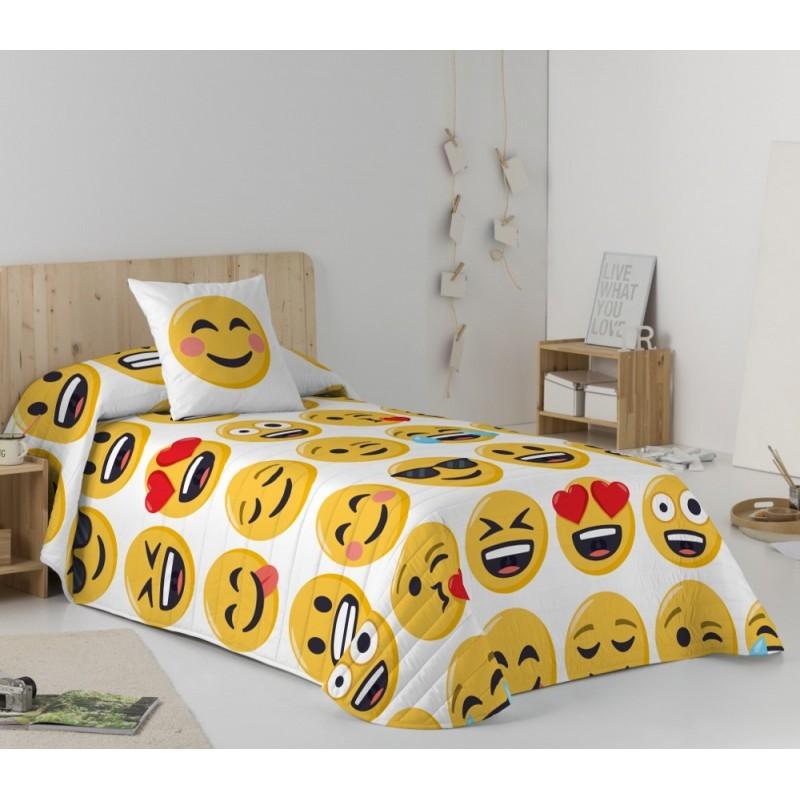 Colcha Bouti Emoji Ily