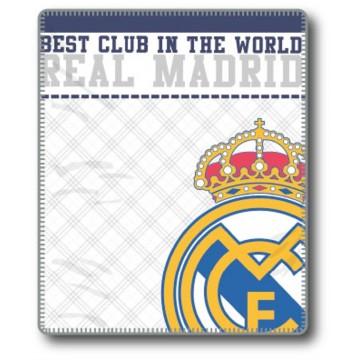 Manta Plaid Real Madrid