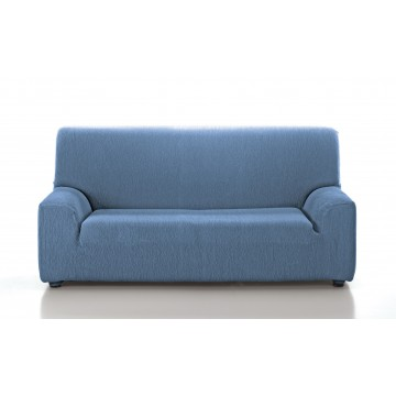 Funda De Sofa Elastica Araj Azul Cielo