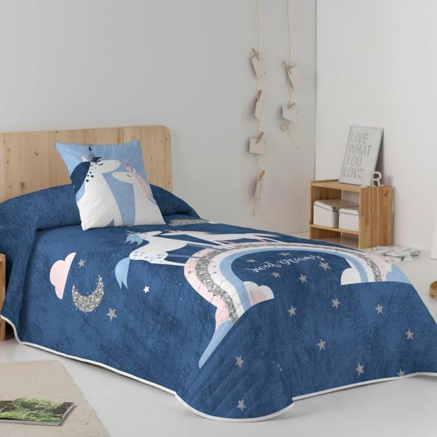 Colcha Bouti Naturals Unicorn
