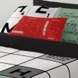Funda Nordica Naturals Scrabble