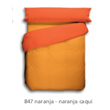 Funda Nordica Lisa Naranja 847.
