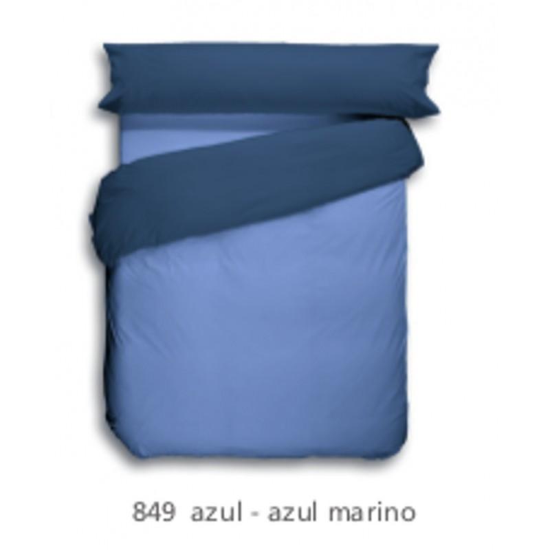 Funda Nordica Lisa Azul 849